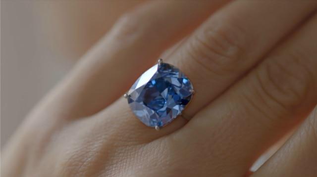Salah satu berlian paling terkenal di dunia.