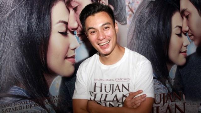 Baim Wong di press screening Hujan Bulan Juni
