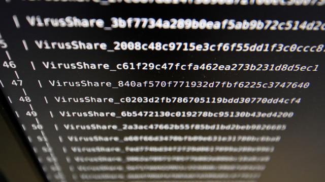 Ilustrasi serangan malware