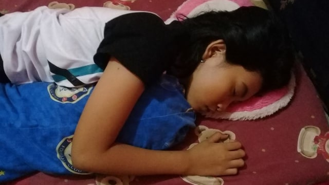 Selama Tidur Panjang, Echa si Putri Tidur Tetap Makan dan Mandi (1403838)
