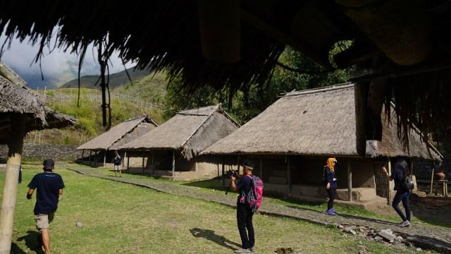 Rumah ada suku Sasak di Dusun Beleq, Sembalun