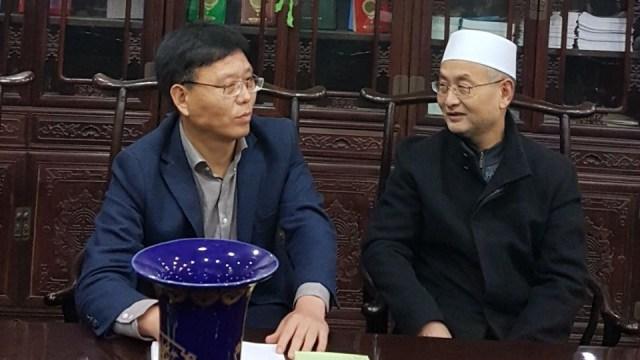 Menyapa Muslim di Xi'an, China (35700)