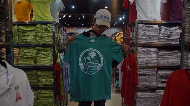 Oleh-oleh khas Pulau Lombok