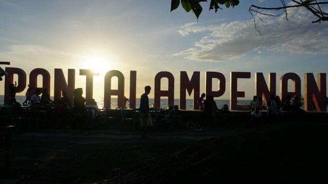 Kota Tua Pantai Ampenan, Mataram, Lombok,