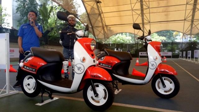 Motor Listrik Yamaha E01 Siap Masuk Dapur Produksi, Performa Setara Motor 125 Cc (50676)