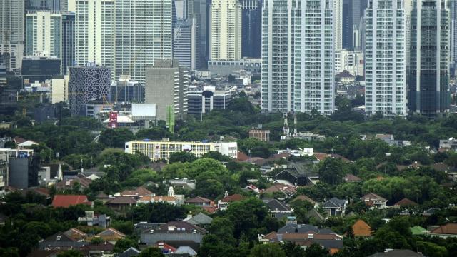 Ruang terbuka hijau di Jakarta