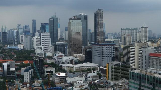 Ilustrasi Gedung di Jakarta
