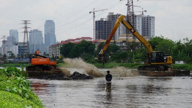 Normalisasi Banjir Kanal Barat