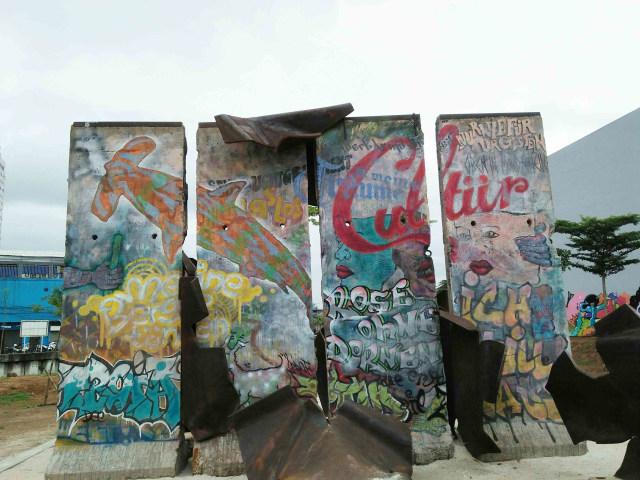 Tembok Berlin di Kalijodo: Simbol Tak Ada yang Abadi (358493)