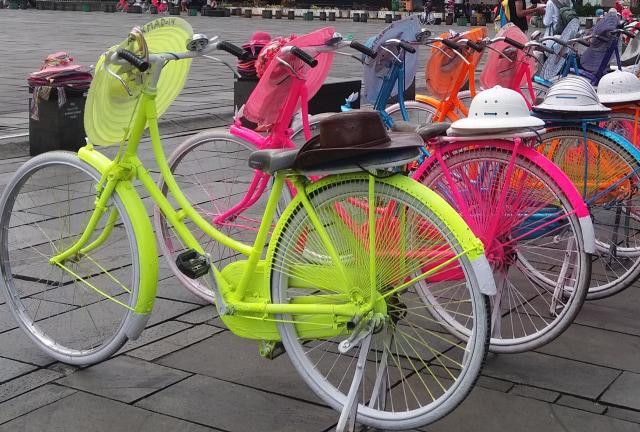 Dibalik Sepeda Onthel Cantik Kota Tua Kumparan Com