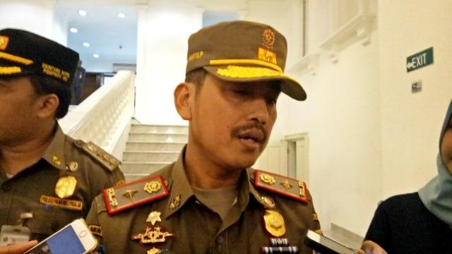 Kepala Satpol PP Yani Wahyu