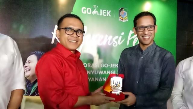 Kolaborasi Pemkab Banyuwangi dan Go-Jek.