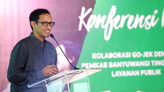 CEO Go-Jek Nadiem Makarim