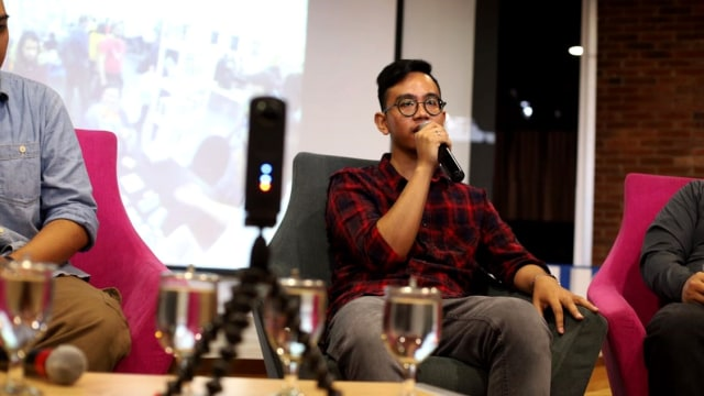 Gibran di acara Boardgames Indonesia