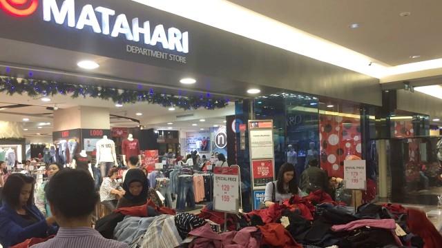 Matahari Mall Taman Anggrek jelang tutup