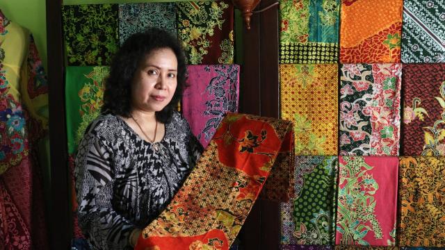 Kisah Susiyati Membuat Gondho Arum menjadi Batik Khas Banyuwangi (155912)