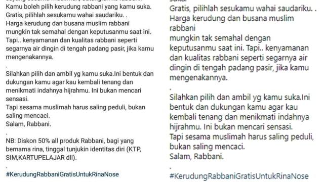 Kerennya Negeriku, Orang Lepas Hijab Bisa Jadi Bahan Dagangan! (108323)