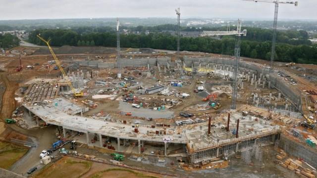 Pembangunan Stadion BMW