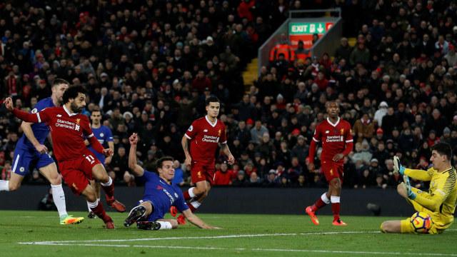 Duel Liverpool versus Chelsea Berakhir Tanpa Pemenang (290802)