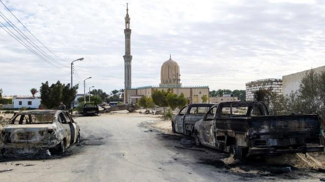 ISIS Cabang Sinai, Pembantai Jemaah Salat Jumat di Mesir (65603)