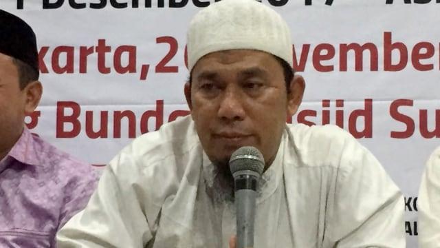 Sekjen PA 212 Bernard Abdul Jabbar Ajukan Penangguhan Penahanan (29981)