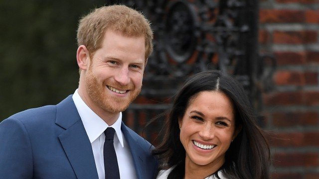 Prince Harry bersama Meghan Markle