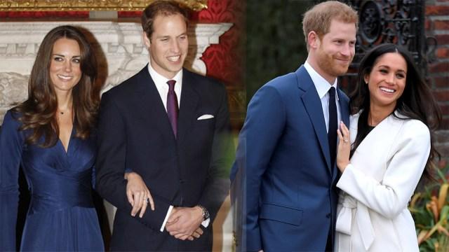 Outfit Kate Middleton dan Meghan Markle