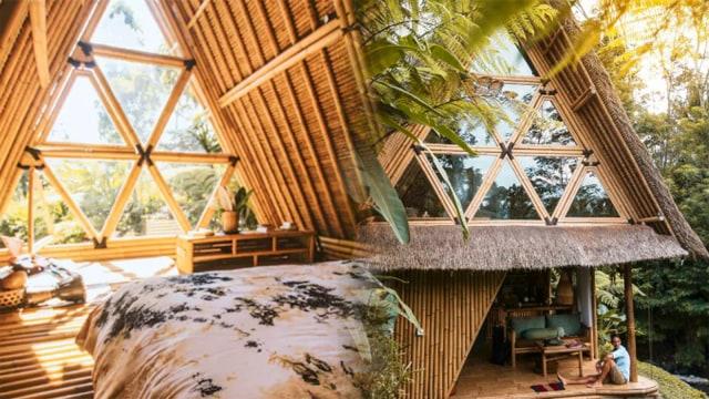 67+ Gambar Rumah Pakai Bambu HD Terbaru