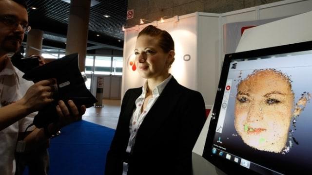 Ilustrasi facial recognition