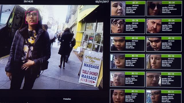 Facial recognition oleh NVIDIA