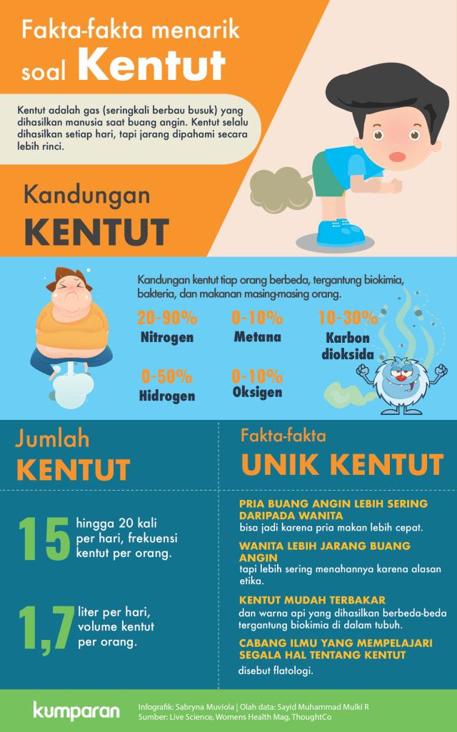 Infografik: Semua yang Perlu Kamu Tahu soal Kentut (864018)