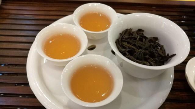 Ilustrasi teh oolong