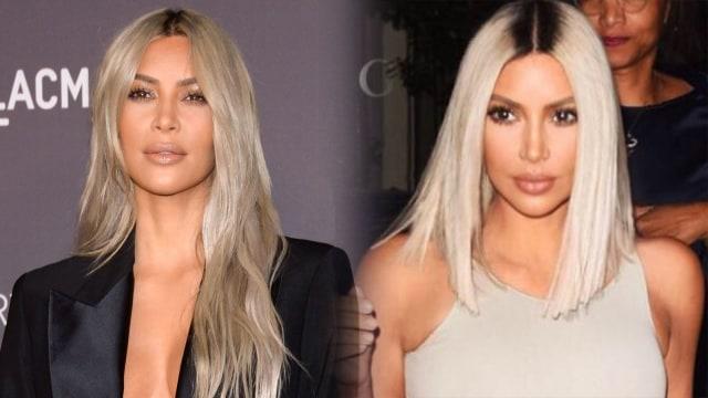 Kim Kardashian potong rambut jadi pendek
