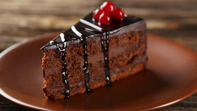 Ilustrasi kue cokelat