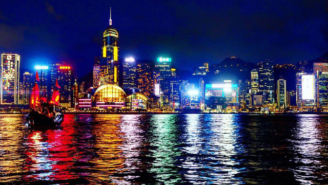 Symphony of Lights di Hong Kong