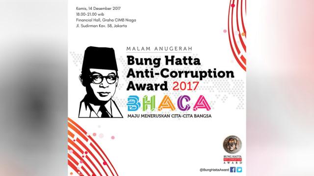 Bung Hatta anti-corruption award