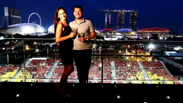 Marissa Nasution dan Benedict, suaminya