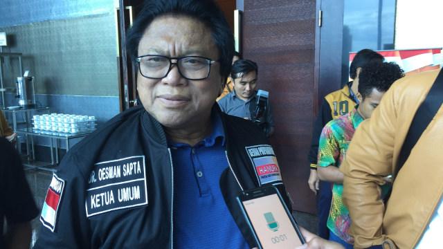 Oso Hadiri Rakor pemenangan Hanura