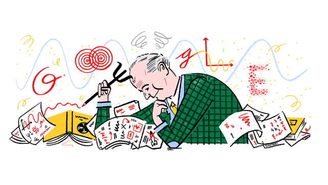 Google Doodle Max Born