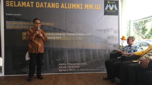 Arif Wibowo Jadi Ketua Iluni Magister Manajemen UI (166607)
