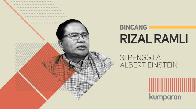 Pengaruh Albert Einstein bagi Kehidupan Rizal Ramli (223524)