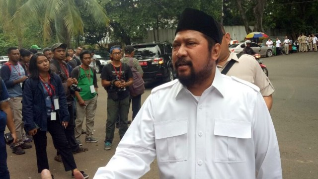 Jamal Mirdad di Kediaman Prabowo Subianto