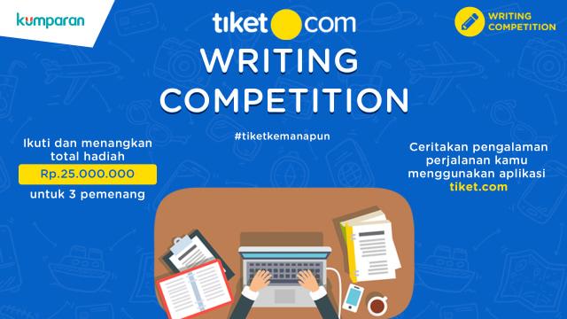 com-tiket.com Writing Competition