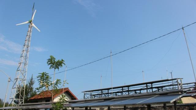 Energi Baru Terbarukan di Pantai Baru, Bantul