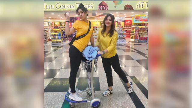 Vanesha dan Sissy Prescillia