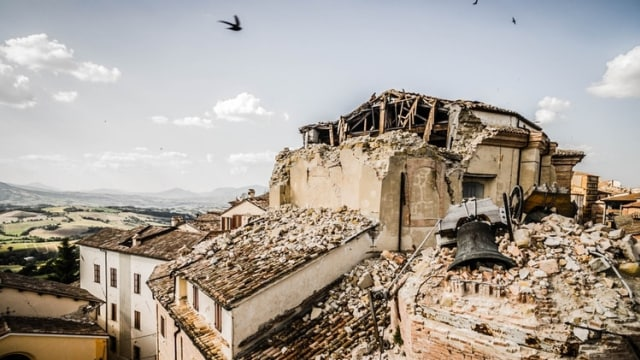 Ilustrasi bencana alam (COVER)
