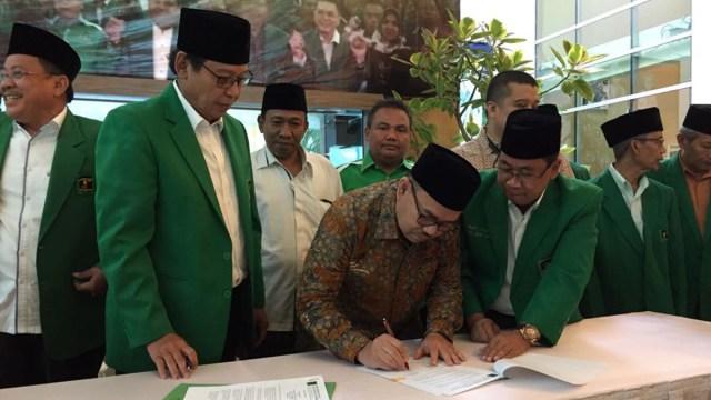 Kesepakatan dukungan pada Sudirman Said