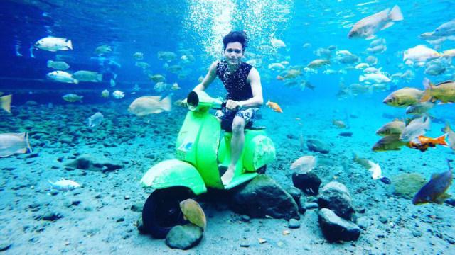 Menyambangi Wisata Selfie Di Dalam Air Umbul Ponggok Di