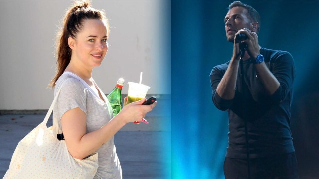 Dakota Johnson dan Chris Martin