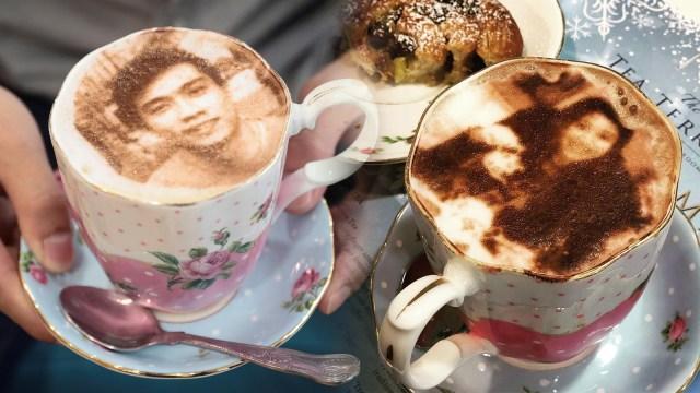 Hasil gambar untuk Latte Art unik di london